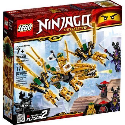 Imagen de LEGO - 70666 NINJAGO DRAGON DORADO 171 PZAS.