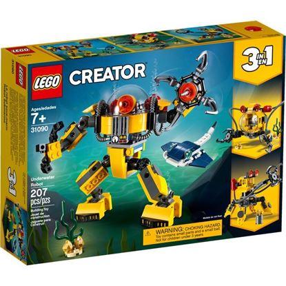 Imagen de LEGO - 31090 CREATOR 3 EN 1 ROBOT SUBMARINO 207 PZAS.