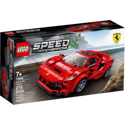 Imagen de LEGO - 76895 SPEED CHAMPIONS FERRARI F8 TRIBUTO 275 PZAS.