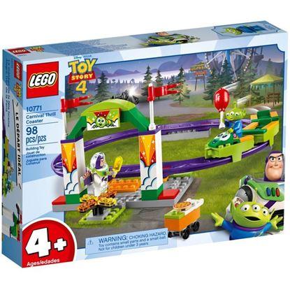 Imagen de LEGO - 10771 TOY STORY 4 ALEGRE TREN DE LA FERIA 98 PZAS.