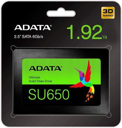 Imagen de ADATA - DISCO ESTADO SOLIDO SSD ADATA S U650 1.92 TB SATA III 2.5