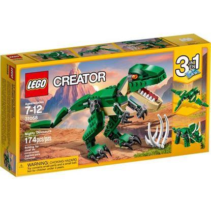 Imagen de LEGO - 31058 CREATOR 3 EN 1 GRANDES DINOSAURIOS 174 PZAS.
