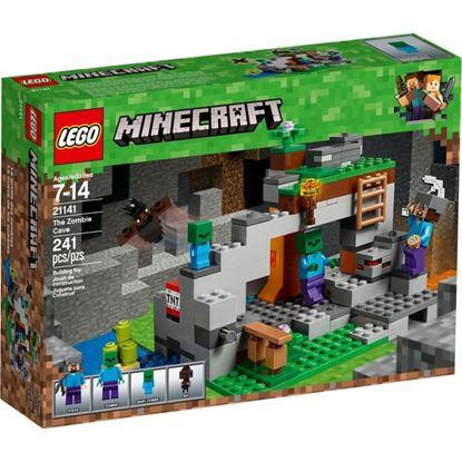 Imagen de LEGO - 21141 MINECRAFT LA CUEVA DE LOS ZOMBIES 241 PZAS.