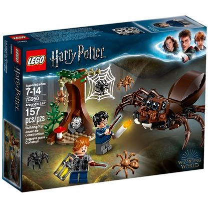 Imagen de LEGO - 75950 HARRY POTTER GUARIDA DE ARAGOG 157 PZAS.