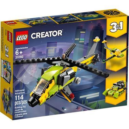 Imagen de LEGO - 31092 CREATOR 3 EN 1 AVENTURA EN HELICOPTERO 114 PZAS.