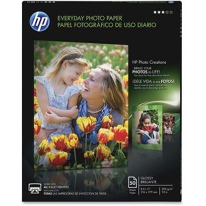 Imagen de PAQ. C/2 - COMPUTER ASSOCIATES INTERNATIONAL - PAPEL HP FOT EVERYDAY SEMI GLOSS (50 HOJAS 8.5 X 11 )