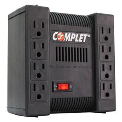 Imagen de COMPLET - REGULADOR XP1300 1300VA / 650W 8 CONTACTOS SUPRESOR TERMICO