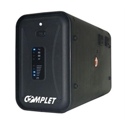 Imagen de COMPLET - NO BREAK C/REG T1000 1000VA /500W 10 CONT 47MINS RESP GTIA 5A