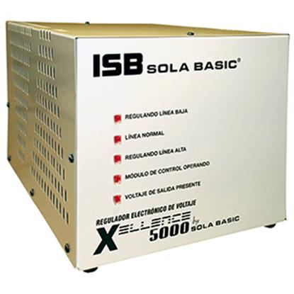 Imagen de INDUSTRIA SOLA - SOLA REGULADOR ELECTRONICO DE VOLTAJE SOLA BASIC