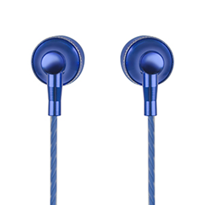 Imagen de PAQ. C/2 - PERFECT CHOICE - AUDIFONOS IN-EAR CON MICROFONO STRETTO (AZUL)