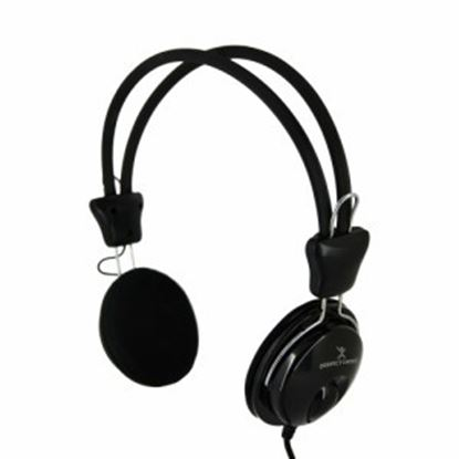 Imagen de PAQ. C/2 - PERFECT CHOICE - AUDIFONOS ON-EAR 3.5 MM CON MICROFONO INTEGRADO.