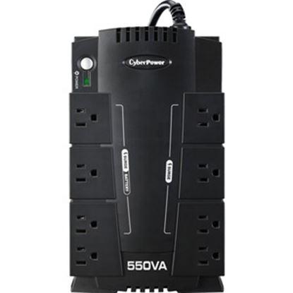 Imagen de CYBER POWER - 550VA CP SL UPS 8CONT TEL USB/SER NO BREAK 3A#OS
