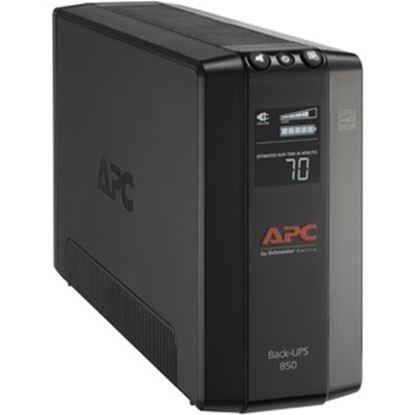 Imagen de APC - BACK UPS PRO BX 850VA 8 OUTLET AVR LCD INTERFACE LAM 60HZ/