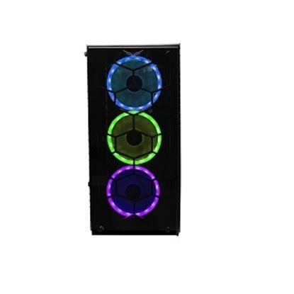 Imagen de CORSAIR - GABINETE GAMER NACEB HYDRA ILUM INACION RGB PANEL LATERAL CRISTAL T