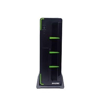 Imagen de CORSAIR - GABINETE SLIM ARUBA C/FUENTE 60 0W MINI-ATX BAHIAS SSD 2 5 HDD 3 5