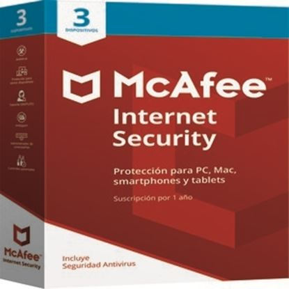 Imagen de MCAFEE - MCAFEE INTERNET SECURITY 3 DEVICE
