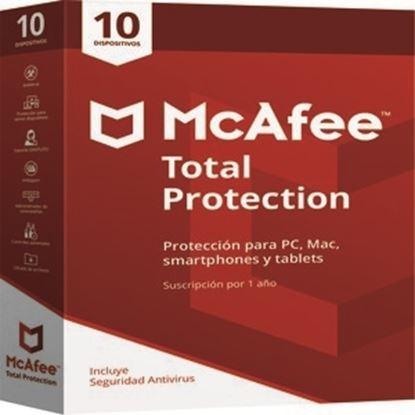 Imagen de MCAFEE - MCAFEETOTAL PROTECTION 1 A±O PARA 10 DISPOSITIVOS