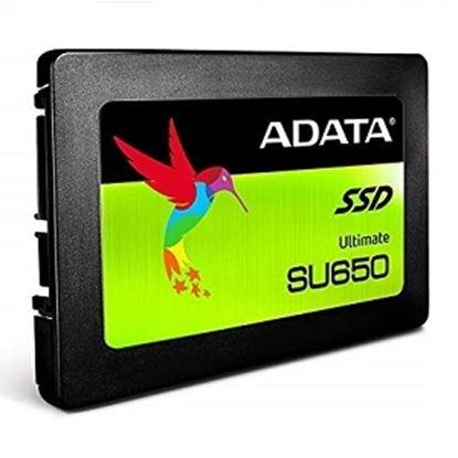 Imagen de ADATA - DISCO ESSTADO SOLIDO SSD ADATA SU650 120GB SATA III 2.5