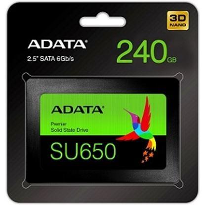 Imagen de ADATA - DISCO ESSTADO SOLIDO SSD ADATA SU650 240GB SATA III 2.5
