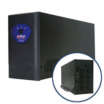 Imagen de COMPLET - NO BREAK C/REG PC3300 3300VA /1650W 8 CONT 115MINS RESP GTIA 5A