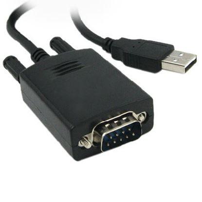 Imagen de DTC - B-ROBOTIX - CONVERTIDOR USB A SERIAL DB9 MACHO 90 CMS.