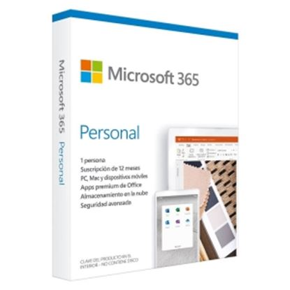 Imagen de MICROSOFT - OFFICE 365 PERSONAL SPANISH SUBSCR 1YR LATAM ONLY MEDIALESS P6