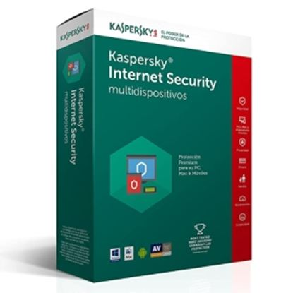 Imagen de PAQ. C/2 - KL - KASPERSKY INTERNET SECURITY MEXICAN ED 5-DEVICE 1 YEAR