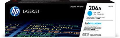Imagen de HEWLETT PACKARD - HP 206A CYAN T TONER CRTG RENDIMIENTO 1 250 PÁGINAS