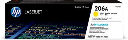 Imagen de HEWLETT PACKARD - HP 206A YELLOW TONER CRTG RENDIMIENTO 1 250 PÁGINAS