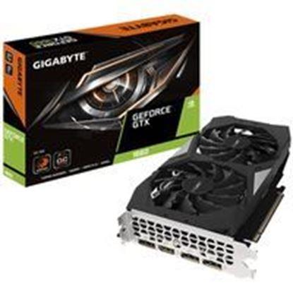 Imagen de KINGSTON - TARJETA DE VIDEO GIGABYTE GTX 1660 OC 6G DDR5 PCIE 3.0 HDMI/DP