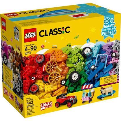 Imagen de LEGO - 10715 CLASSIC BRICKS SOBRE RUEDAS 442 PZAS.