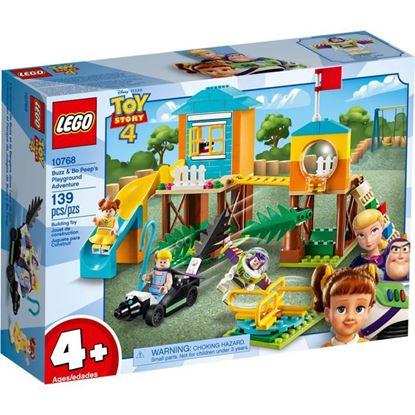 Imagen de LEGO - 10768 TOY STORY 4 AVENTURA EN EL PARQUE DE JUEGOS DE BUZZ Y BO PEEP 139 PZAS.