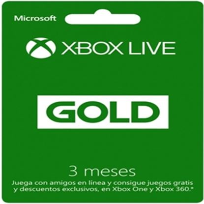 Imagen de MICROSOFT XBOX - XBOX LIVE 3 MONTH GOLD CARD FPP GEOFENCD