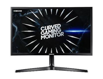 Imagen de SAMSUNG - MONITOR SAMSUNG CURVO 24 FHD NEGRO FHD HDMI