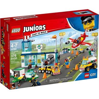 Imagen de LEGO - 10764 JUNIORS AEROPUERTO PRINCIPAL DE LA CIUDAD 376 PZAS.