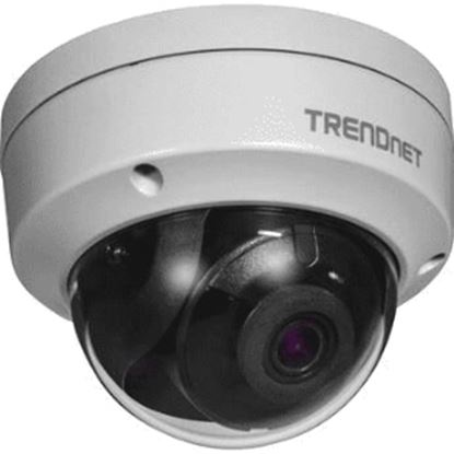 Imagen de TRENDNET - INDOOR/OUTDOOR 8MP 4K H.265 WDR POE IR DOME NETWORK CAMERA