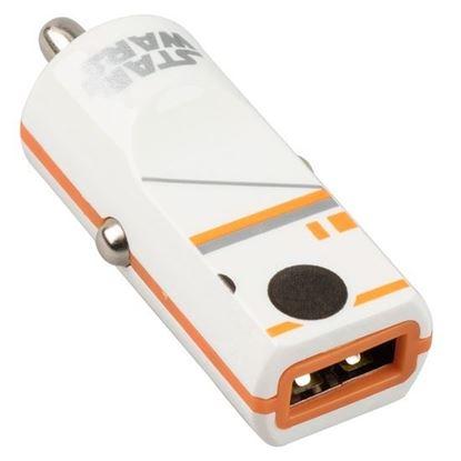 Imagen de PAQ. C/5 - TRIBE - CARGADOR USB PARA AUTO SW BB8