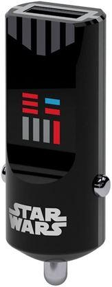 Imagen de PAQ. C/5 - TRIBE - CARGADOR USB PARA AUTO SW DARTH VADER
