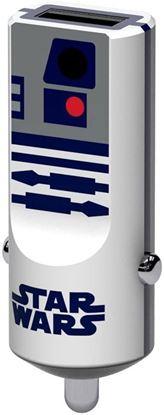 Imagen de PAQ. C/5 - TRIBE - CARGADOR USB PARA AUTO SW R2D2