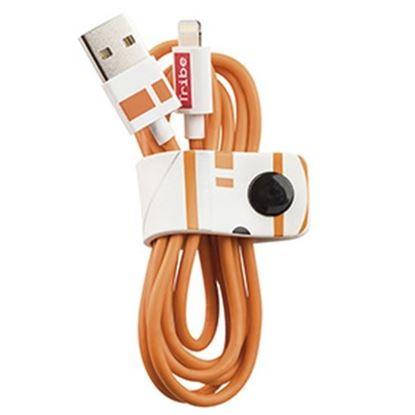 Imagen de PAQ. C/3 - TRIBE - CABLE LIGHTNING A USB-A, 1.2M SW TFA BB8