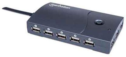 Imagen de MANHATTAN - HUB USB V2.0 13 PTOS CON FUENTE