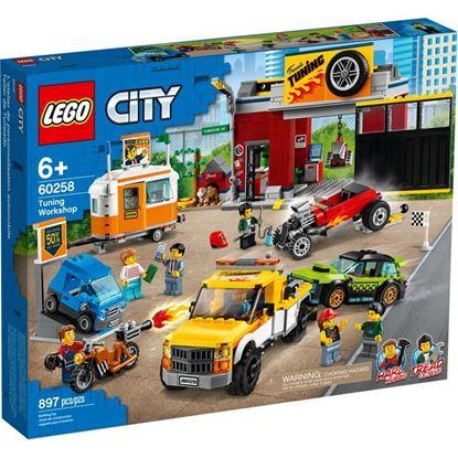 Imagen de LEGO - 60258 LEGO CITY TALLER DE TUNEADO 897 PZAS.