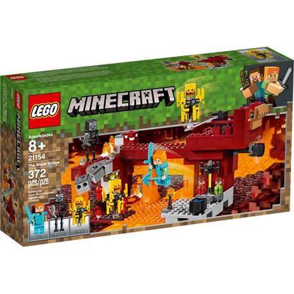 Imagen de LEGO - 21154 MINECRAFT EL PUENTE DEL BLAZE 372 PZAS.