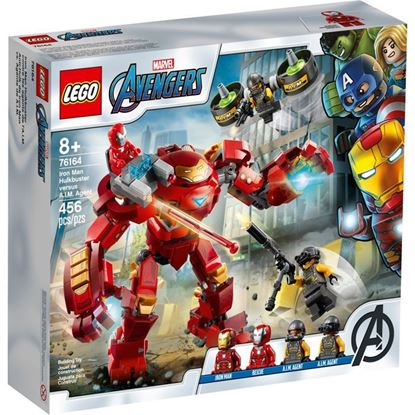 Imagen de LEGO - 76164 MARVEL AVENGERS ANTI-HULK DE IRONMAN VS. AGENTE DE AIM 456 PZAS.