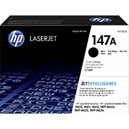 Imagen de HEWLETT PACKARD - HP 147A BLACK LASERJET TONER CARTRIDGE 10 500 PAG