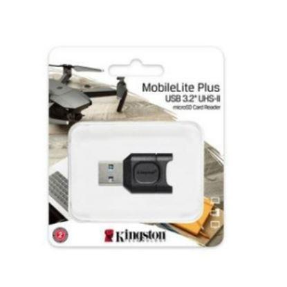 Imagen de KINGSTON - KINGSTON LECTOR USB 3.1 MICRO SDHC/SDXC/UHS-II CARD READER