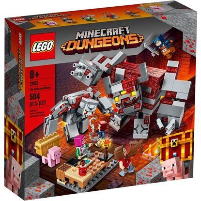 Imagen de LEGO - 21163 MINECRAFT DUNGEONS LA BATALLA POR LA PIEDRA ROJA 504 PZAS.