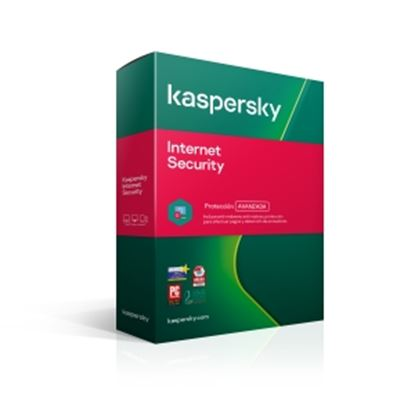 Imagen de KL - KASPERSKY INTERNET SECURITY 1 DISPOSITIVO 1 ANO CAJA