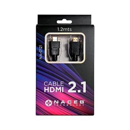 Imagen de CORSAIR - CABLE HDMI 2.1 4K 8K EARC 1 2M .