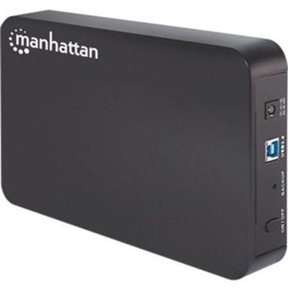 Imagen de IC - GABINETE HDD 3.5 SATA USB V3.0 NEGRO